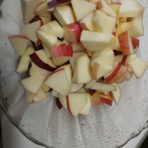 サツマイモ&リンゴパイ