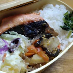 鮭弁と二日目のカレー
