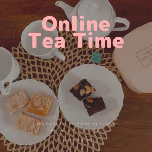 """【告知】""""オンラインでお話ししよう♡zoomお茶会""""開催いたします。"""