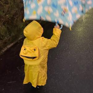 雨の日のママの朝あるある。