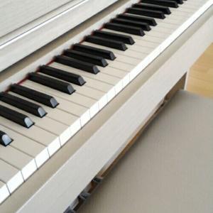 長女のピアノ