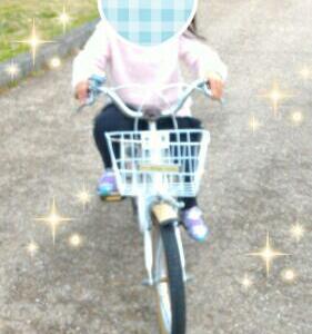 次女4歳4ヶ月自転車マスター☆