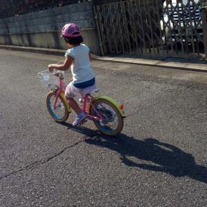 2分で自転車の補助輪が外れた訳