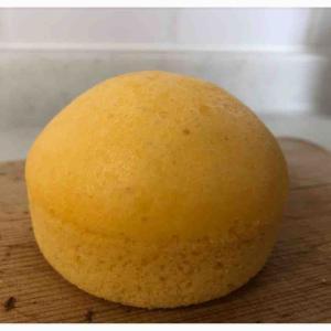 昨日はフレンチトースト 今日はたまご蒸しパン作ってもらっただちー