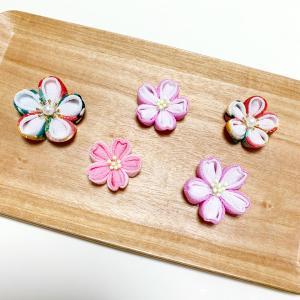つまみ細工教室ー桜を摘む…