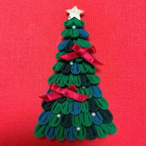 つまみ細工 クリスマスツリー