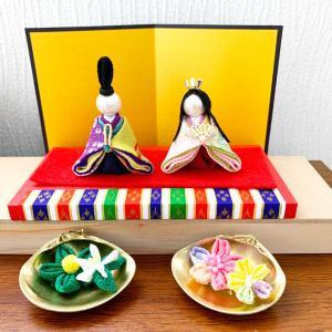 お内裏様とお雛様 桜&橘