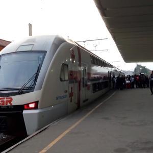 時間・予算ともにバランスのよい、電車での国内移動!ートビリシ・バトゥミ間を電車で行く