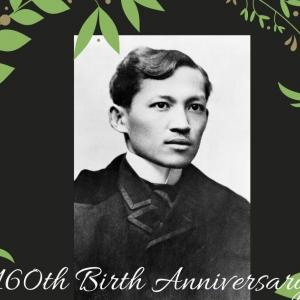 フィリピンの英雄、ホセ・リサール160回目の誕生日