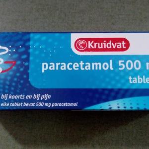 パラセタモール(paracetamol)はオランダの常備薬