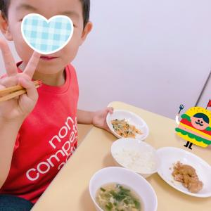 30週1日 リトミック参観&給食試食会