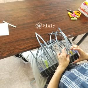 基礎のチカラがあってこそ編めるバッグ