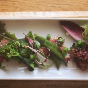 海藻と野菜の二杯酢サラダ