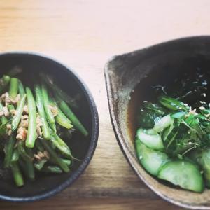 いんげんと胡瓜のお惣菜