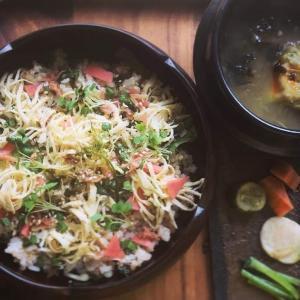 錦糸卵の野菜ちらし寿司の献立