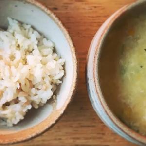 コーンのクリーミー玉子スープ