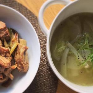 優しいスペアリブと白菜スープ
