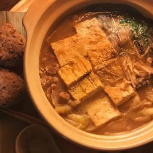 牡蠣と豚肉の土手鍋の献立