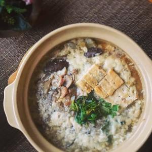 味噌おじやの茶碗蒸し風土鍋