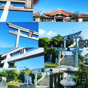 晴れの日の宮古神社