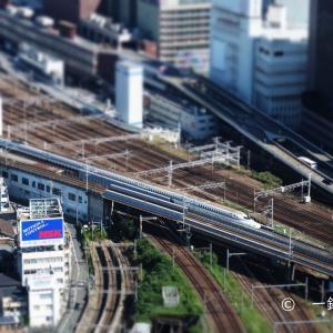 まるで鉄道模型・・・