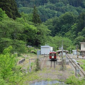 長野県最北端のローカル駅