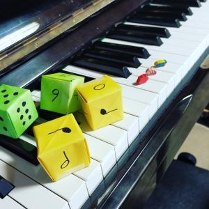 #すごろくピアノ #松田知育ピアノメソッド でお勉強させていただいています。そこで @...