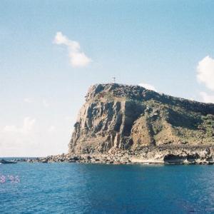 1996/8/17-27:八重山・与那国島めぐり回想のサンゴと海(さすがに今とは全然違う雰囲気)(2)竹富島・与那国島・首里城
