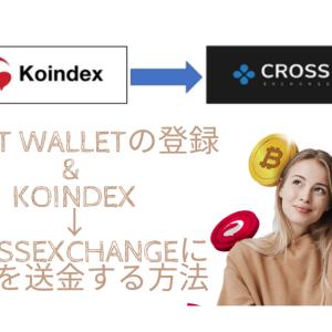 Trust Wallet(トラストウォレット)の登録 & XEXをKoindex→CROSSexchangeに送金する方法