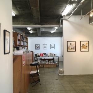 アミーンの新作展「My Iranian Lions」大阪のCalo bookshop & cafeで開催中!(10/19まで)