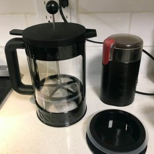 ボダムのコールドブリューコーヒーメーカーを使ってます。