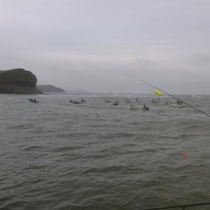鮭釣り アキアジ 2017 第2戦
