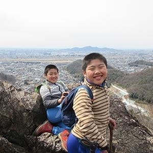子供と登山 「佐野・足利・栃木 里山のススメ③」 両崖山・天狗山(栃木県)