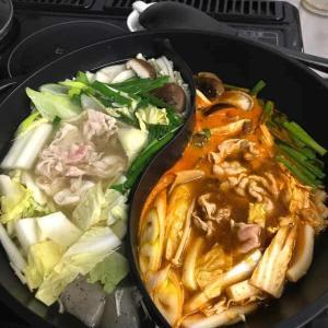 念願の、2つの味を楽しめる2色鍋
