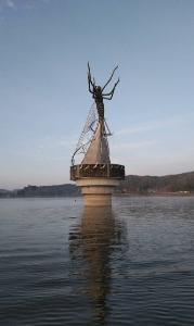 高滝湖DEワカサギ釣り  (貸しボート釣り)