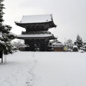 雪景色14 / 京都・清凉寺
