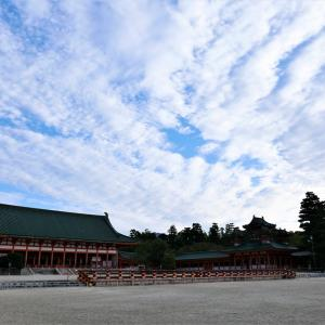 秋の雲 / 京都・平安神宮