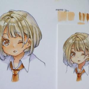 コピック・川名すず先生の描き方を学ぶ