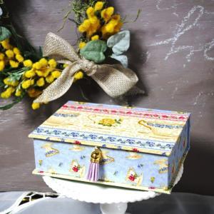 カルトナージュ・ブック型BOX