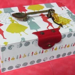 カルトナージュ・おフランス的BOX