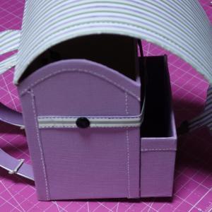 ★紙のランドセル作りpart 1➡  part 2へ、どこが簡単になっているかな?