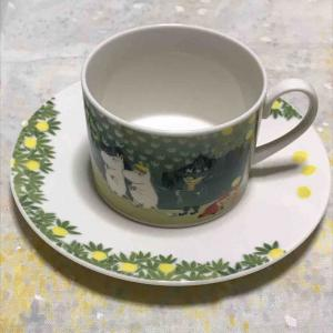ムーミンのカップ&ソーサーのおはなし