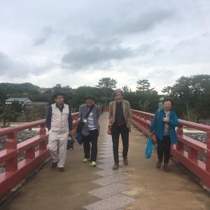 坂井画伯とめぐる世界遺産、平等院、宇治上神社とかき氷