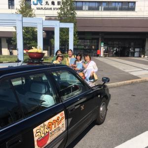 ①うどんタクシー、善通寺と海岸寺奥之院、そして本島へ【お客様の故郷を訪ねる旅】