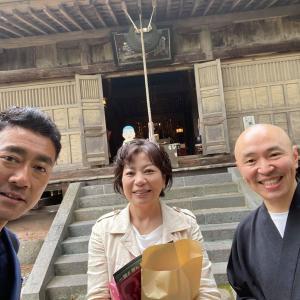 7月11日、護摩祈祷の御導師をお務めいただく志亮和尚さんのこと
