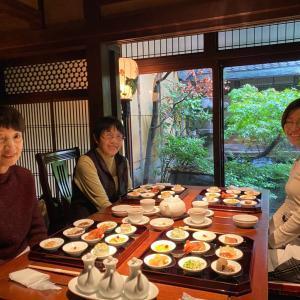 京都、丹波、丹後1日目はしっとり雨の京都