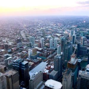 シカゴダウンタウン観光④ ウィリアスタワーとSUSHI-SAN。