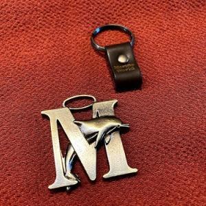マリンワールドのキーホルダー、または増える帯留、または無理やり四分紐の話