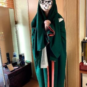 イタダキモノ(2)娘の普段着物にいただきました編