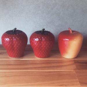 ヘーゼルアトラスよりイチゴとリンゴの形をしたジャム容器を出品しました